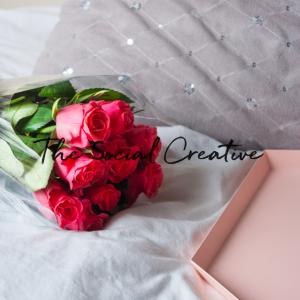 Bloemen editie stockfoto pakket