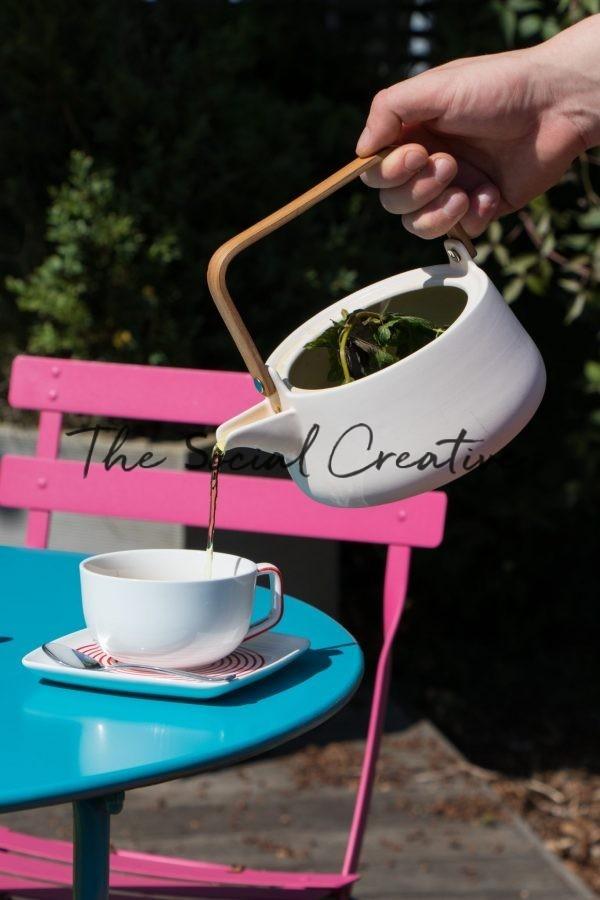Time for tea stockfoto voor ondernemers